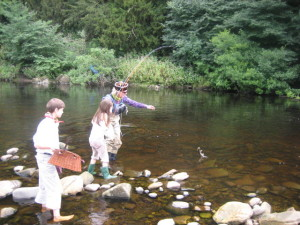 Estate Fishing River Tees Brown Trout