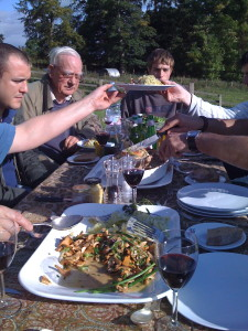 Staff Lunch on the Estate