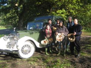 Staff Wild Mushroom Foray on the Estate 1